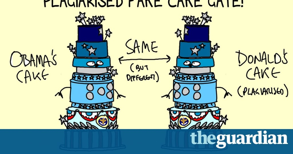 Alternative facts, yes. Alternative cakes, no. The adventures of Trump's inauguration cake | First Dog on the Moon