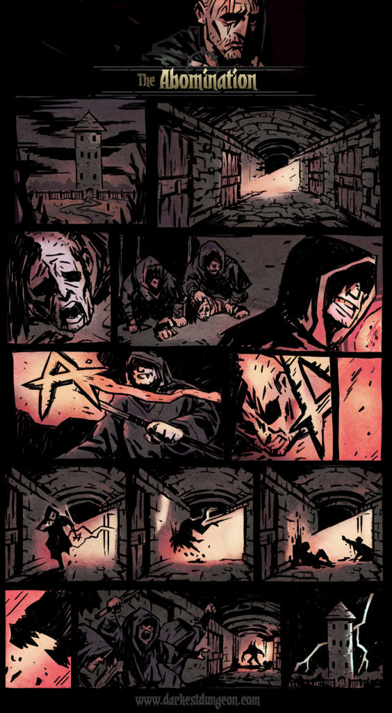 Darkest Dungeon Origin Comics