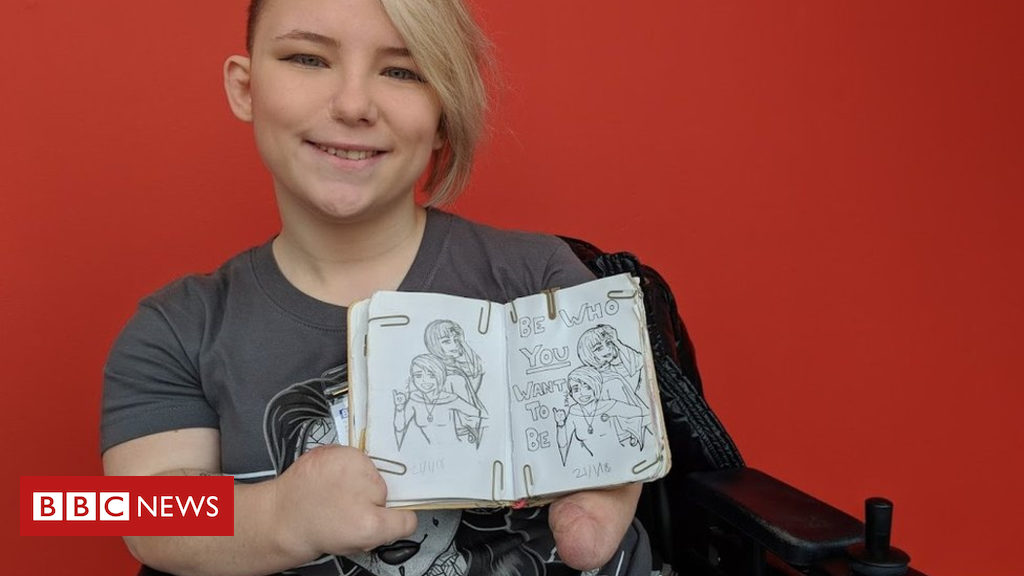 'People don't expect me to be able to draw'