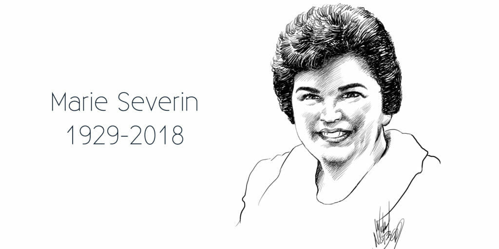The comic book industry mourns the loss of Marie Severin