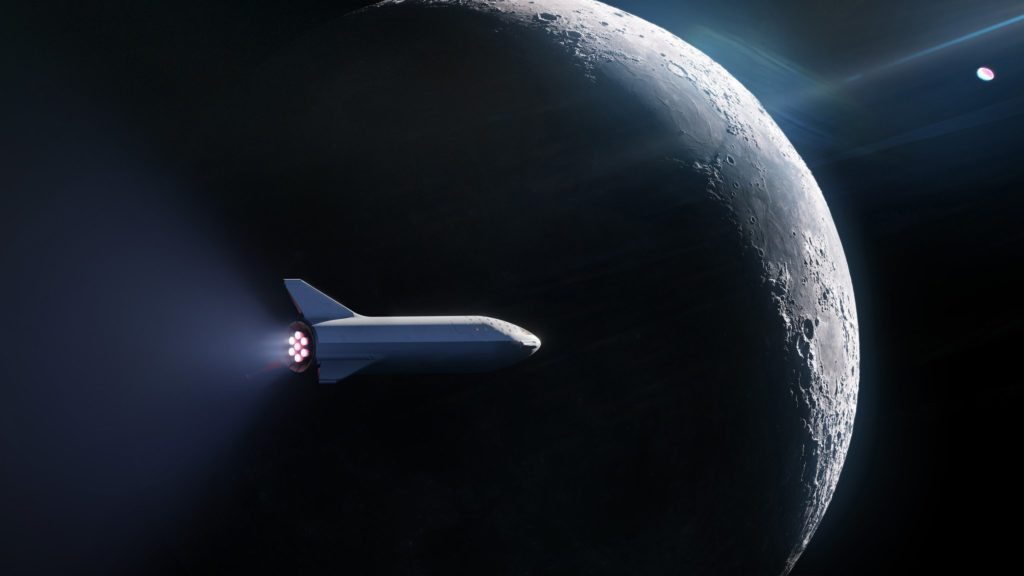 SpaceX announces plan to announce plan to send someone around the moon in planned spaceship