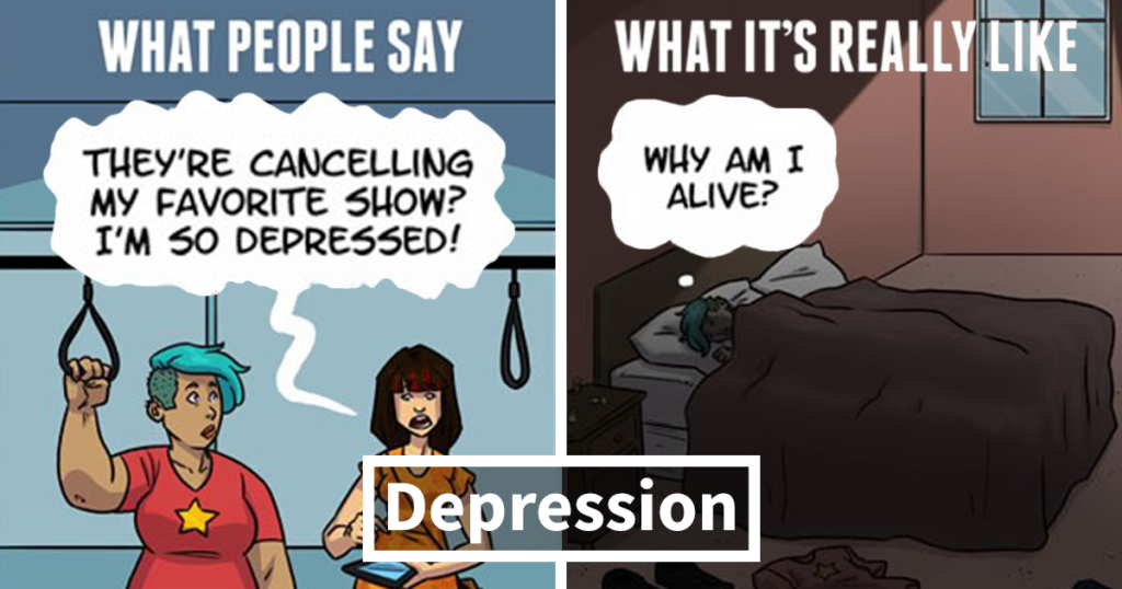 What You Say About Mental Illness Vs What You Actually Mean
