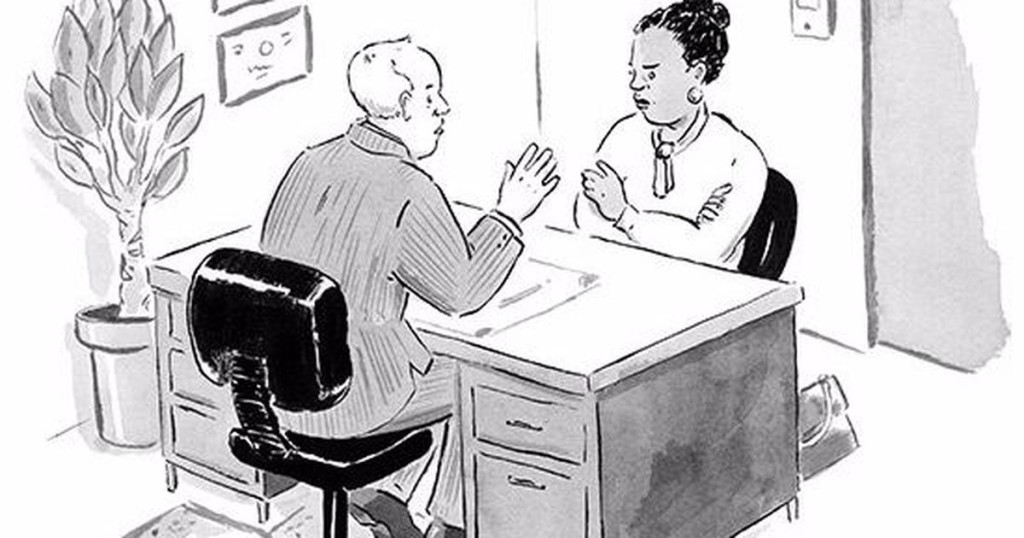 'New Yorker' cartoon brilliantly depicts the severity of the world's biggest grammar debate