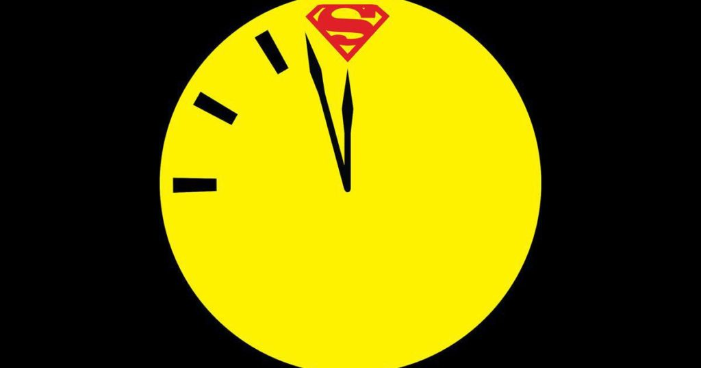 The first 'Doomsday Clock' pages introduce a character as controversial as the event itself
