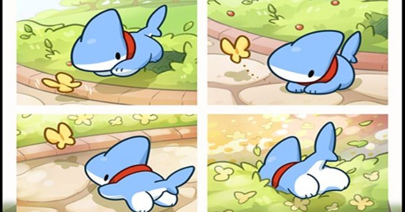 The Extremely Cute Adventures Of Shark Puppy!